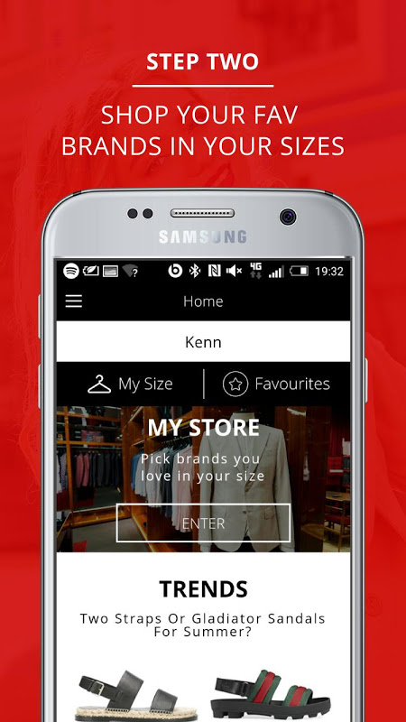 Android EyeFitU Clothes Shopping Made Easy! 👗👕 Screen 3
