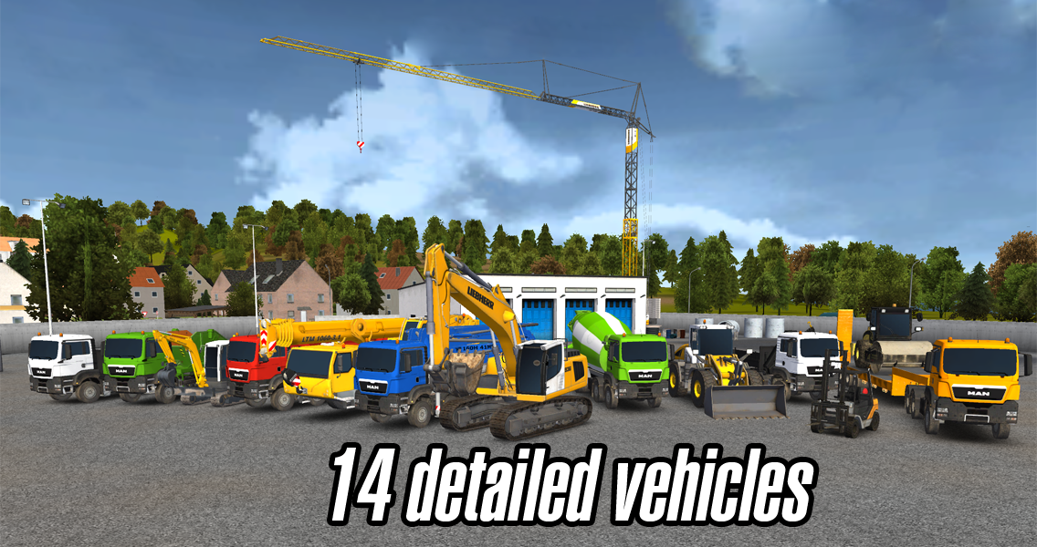 Android Construction Simulator 2014 Screen 1