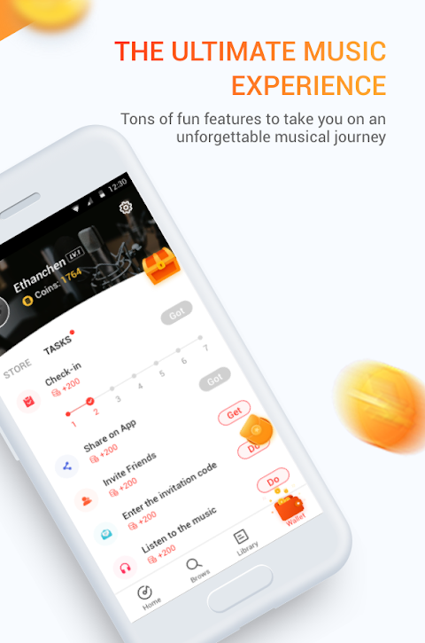 Android Marni Music - Free Music & Earn Real Money Screen 4