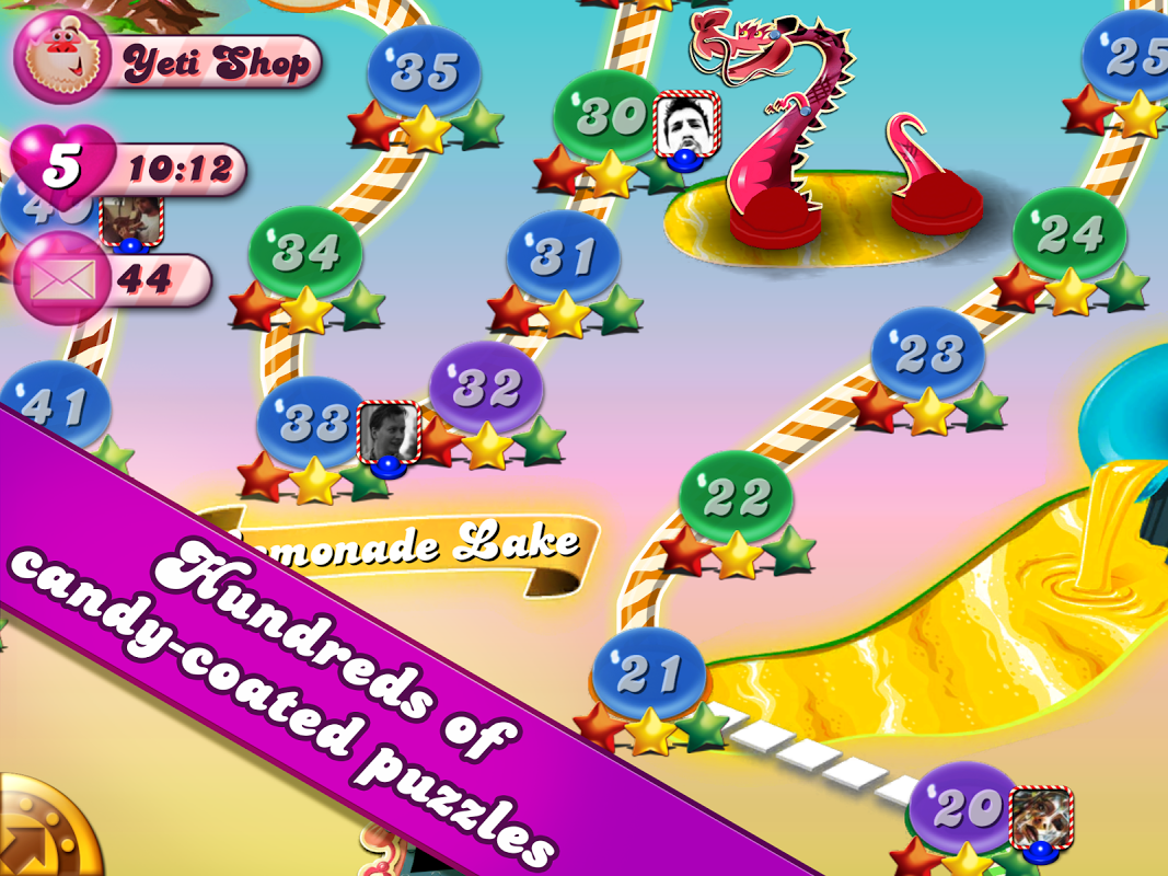 Android Candy Crush Screen 1