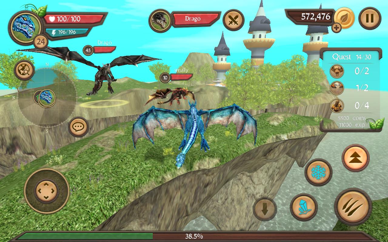 Dragon Sim Online: Be A Dragon 6.1 Screen 1