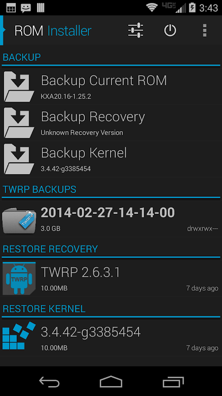 Android ROM Installer Screen 3