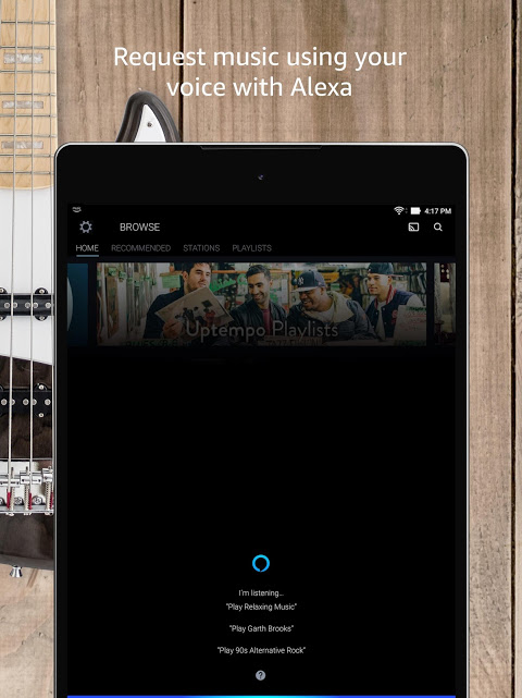 Android Amazon Music Screen 9