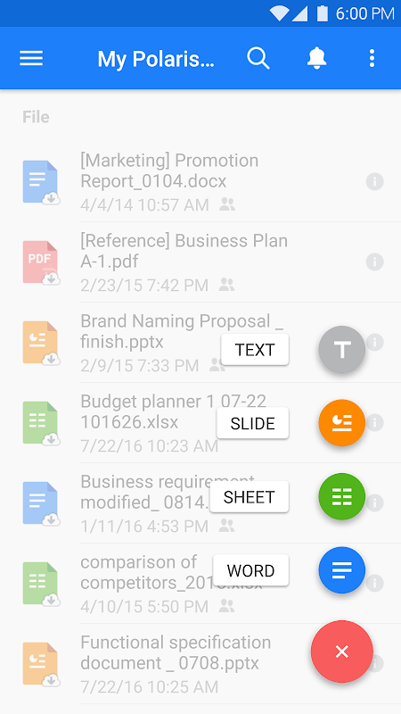 Android Polaris Office - Word, Docs, Sheets, Slide, PDF Screen 21