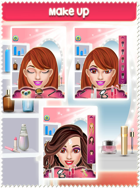 Android Makeup Anna Game Screen 2