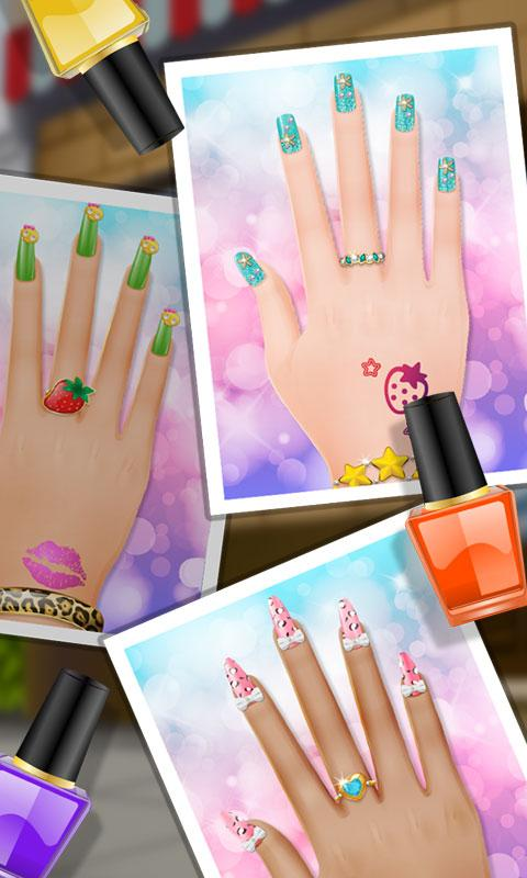 Android Nail Makeover - Girls Games Screen 2