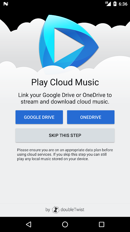 Android CloudPlayer™ by doubleTwist Screen 2
