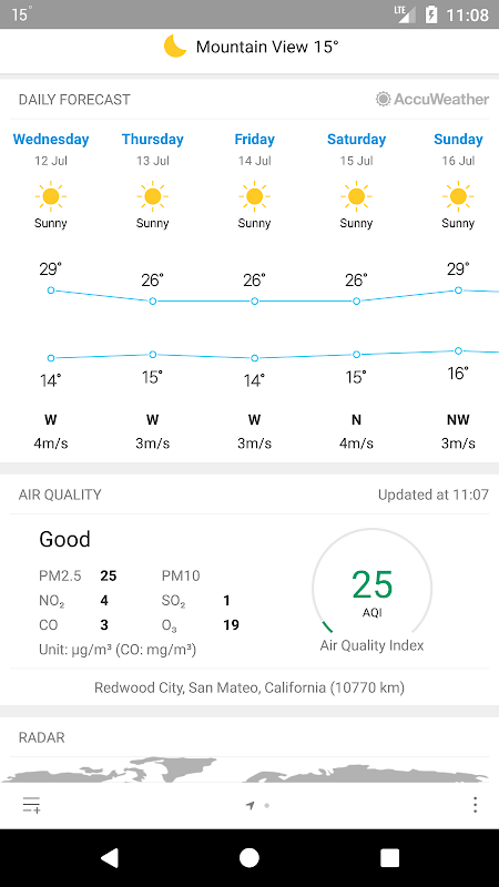 Weather Mate (Weather M8) 1.3.9 Screen 2