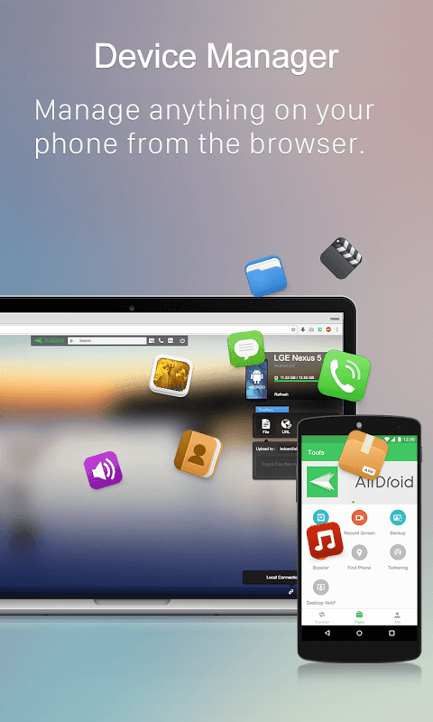 Android AirDroid: Remote access & File Screen 13