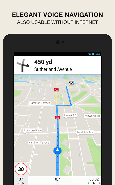 Android GPS Navigation & Maps - Scout Screen 9