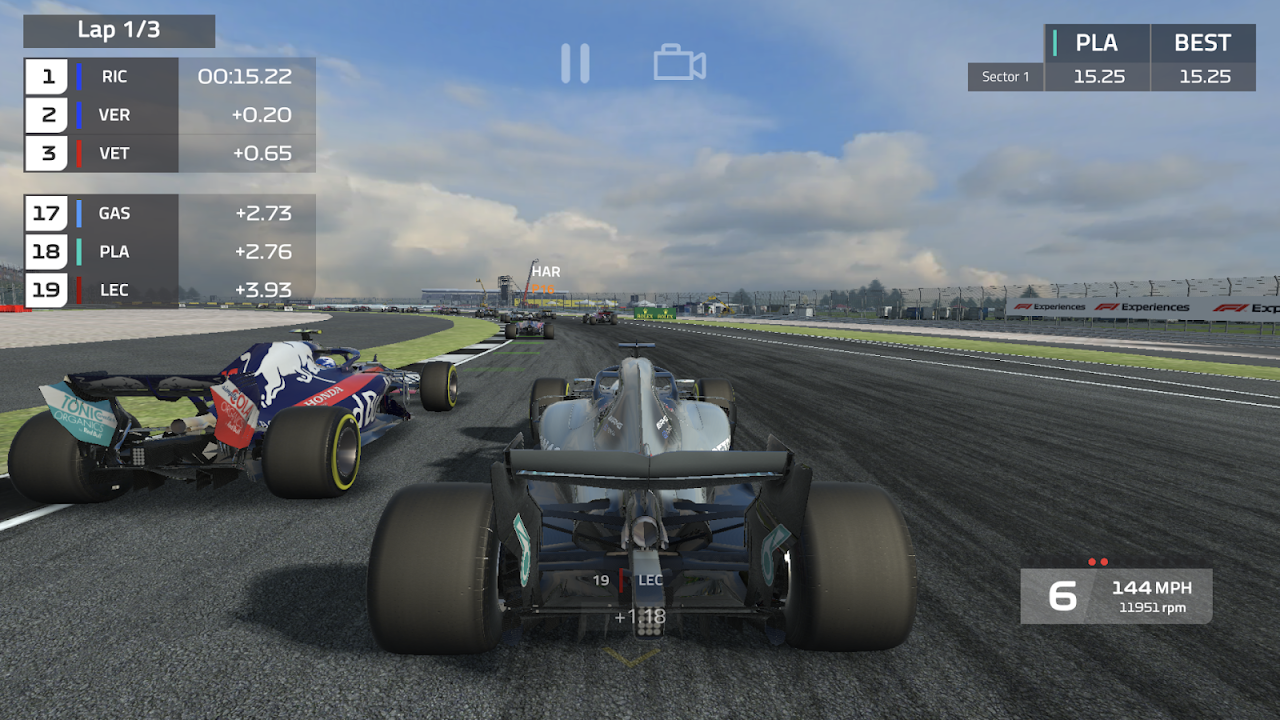 Android F1 Mobile Racing Screen 5