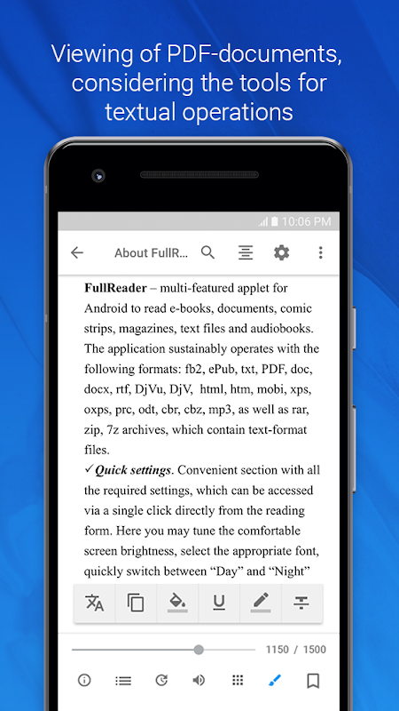 FullReader – e-book reader 4.0.4 Screen 4