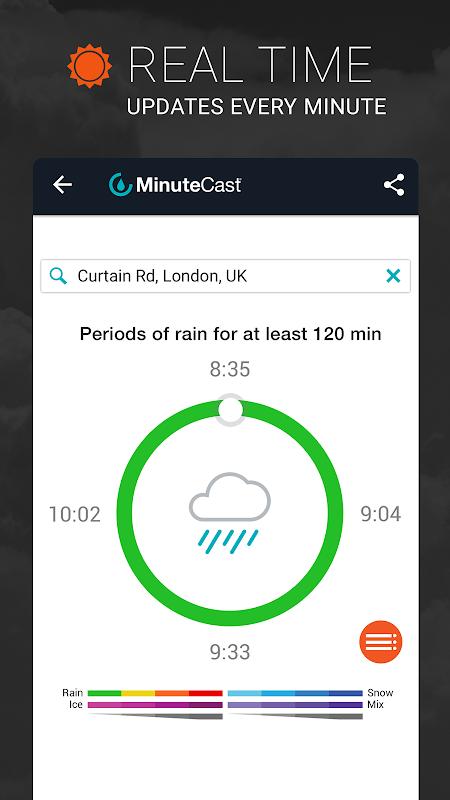 AccuWeather: Weather Forecast & Local Rain Alerts 5.8.0.4-free Screen 1