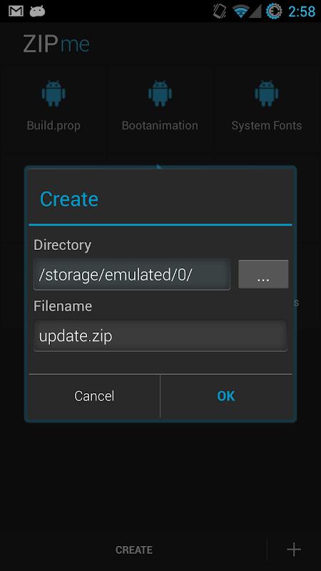 ZIPme 1.0.4 Screen 4