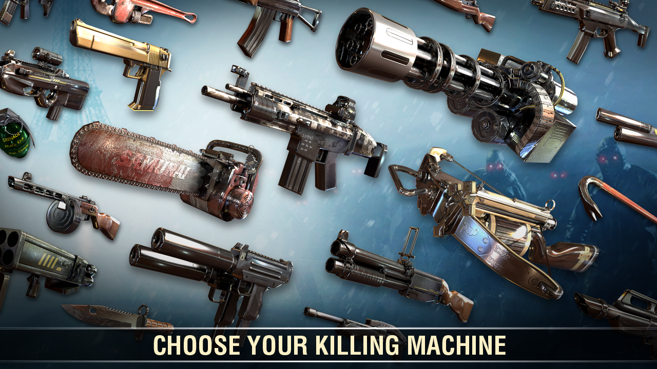 Android Dead Trigger 2: First Person Zombie Shooter Game Screen 1