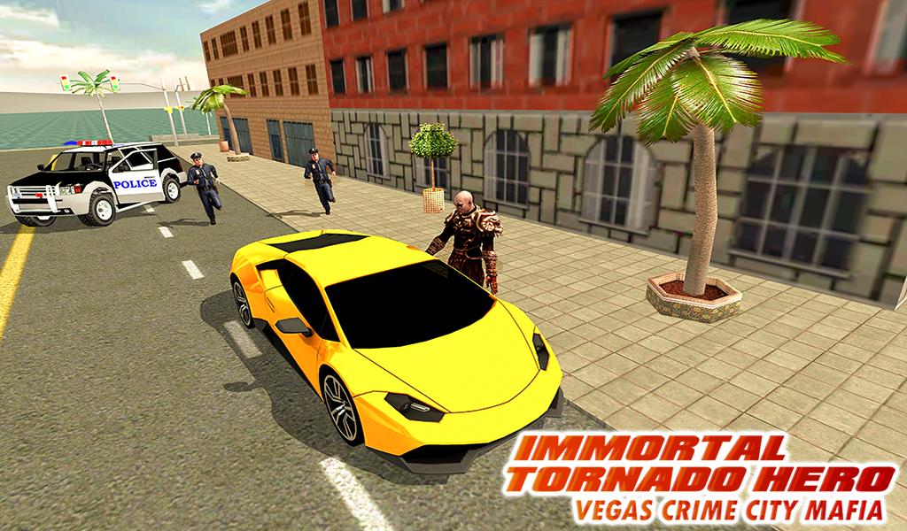 Android Immortal Tornado hero - Vegas Crime City Mafia Screen 11
