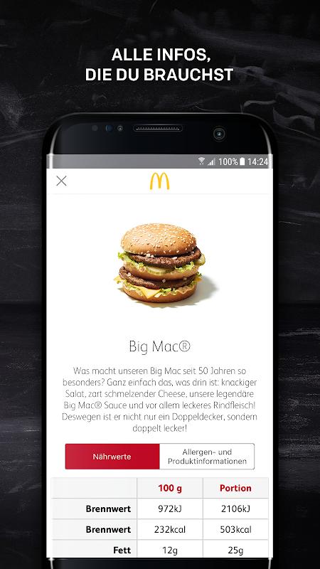 McDonald's Deutschland 5.4.0.34242 Screen 3