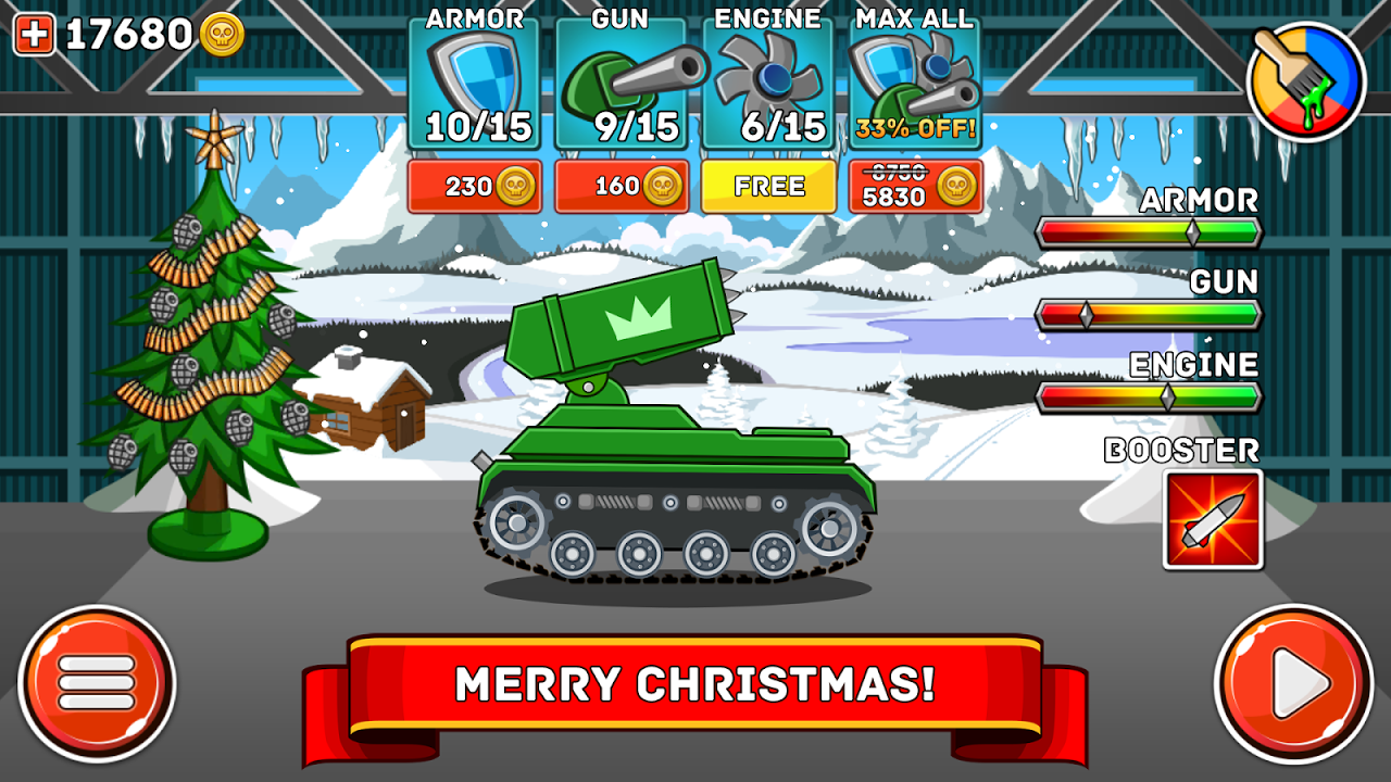 Android Hills of Steel Screen 12