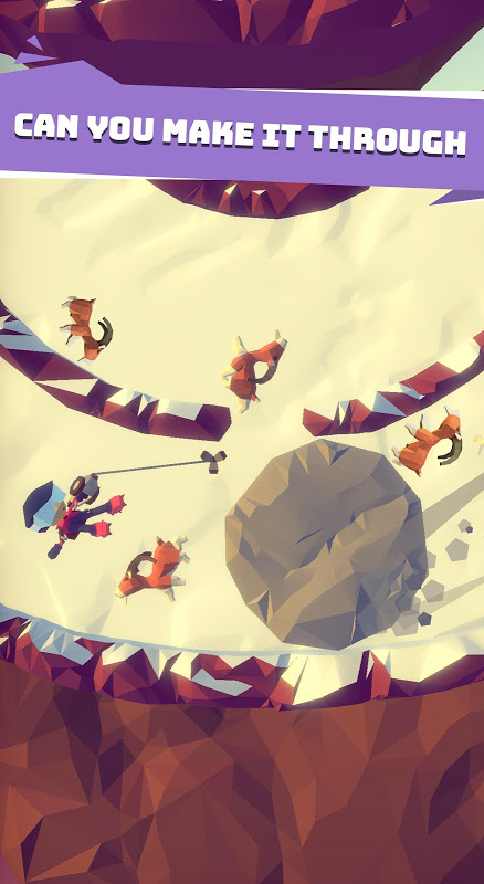 Android Hang Line: Mountain Climber Screen 15