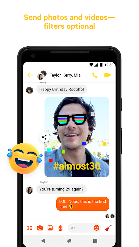 Messenger – Text and Video Chat for Free 233.0.0.3.158 Screen 1