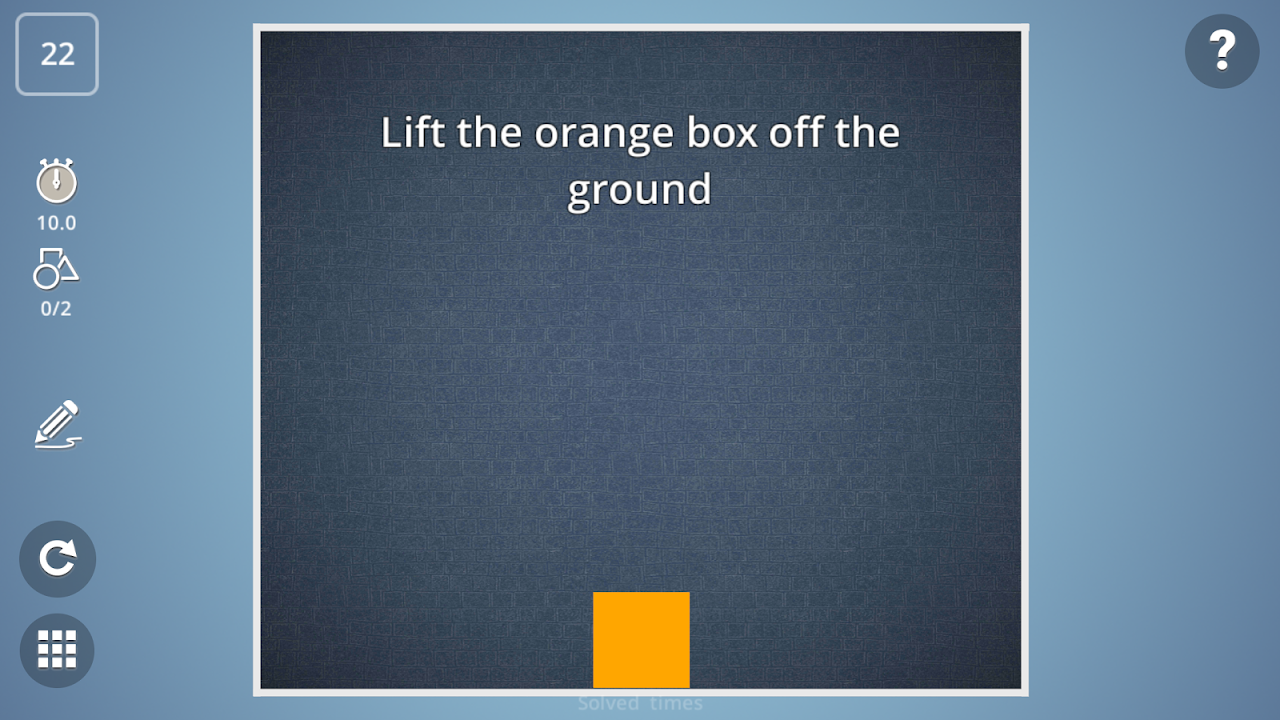 Android Brain It On! - Physics Puzzles Screen 1