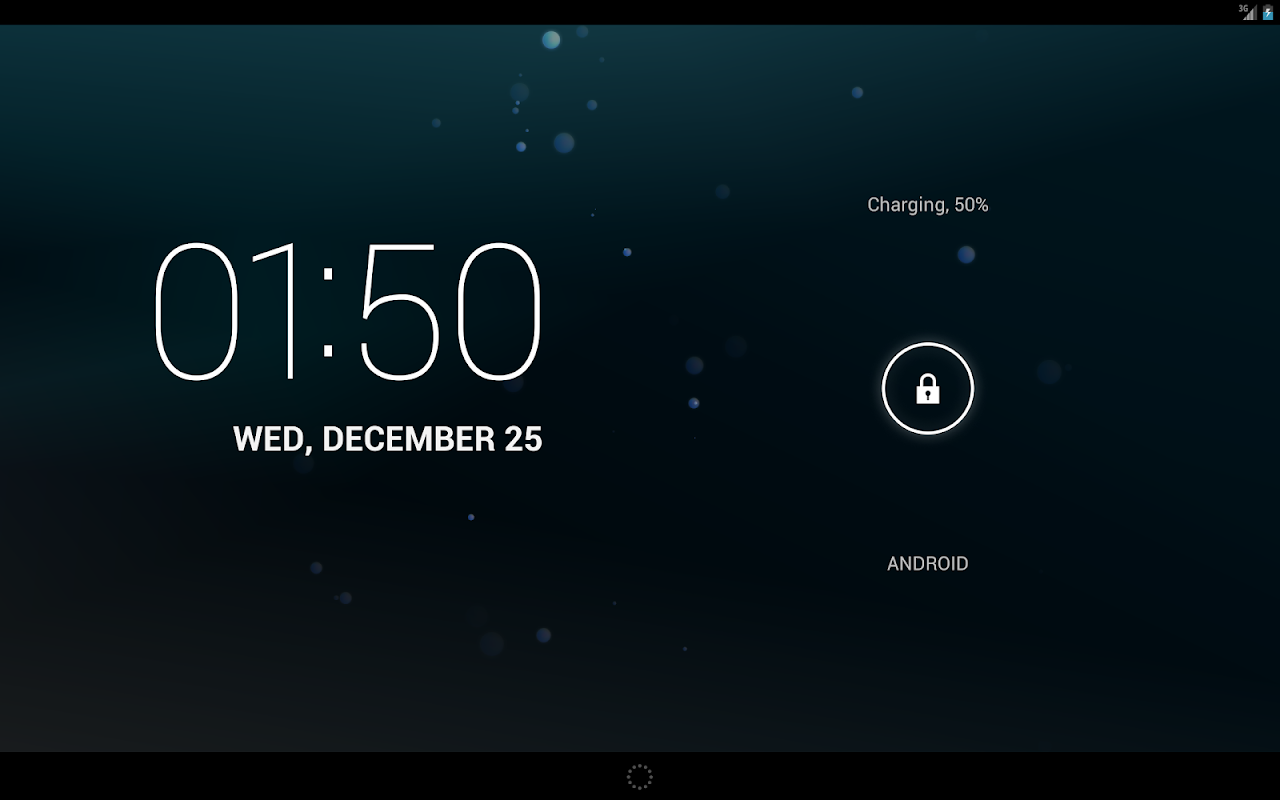 Android CKLabs Bubbles LWP Screen 4