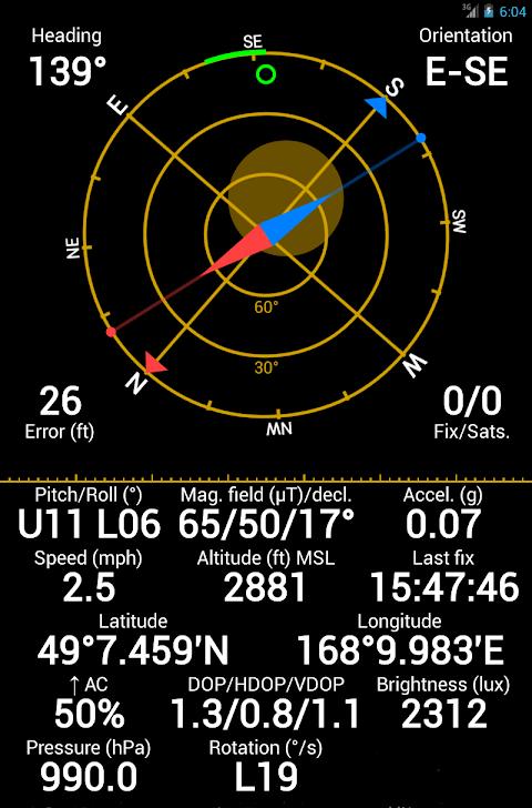 GPS Status & Toolbox 8.4.177 Screen 9