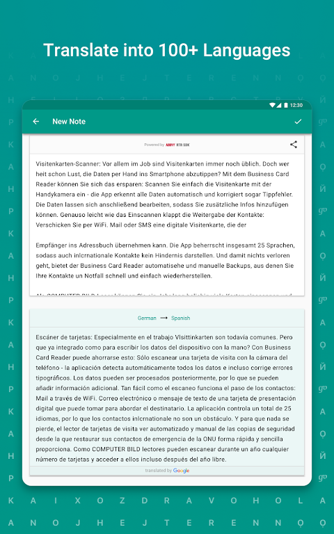 TextGrabber Offline Scan & Translate Photo to Text 2.5.3.3 Screen 13