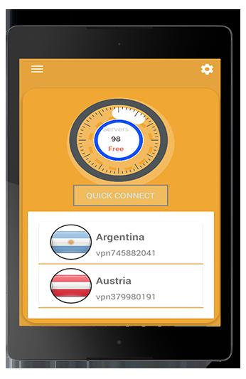 Android Hi VPN Pro Screen 5