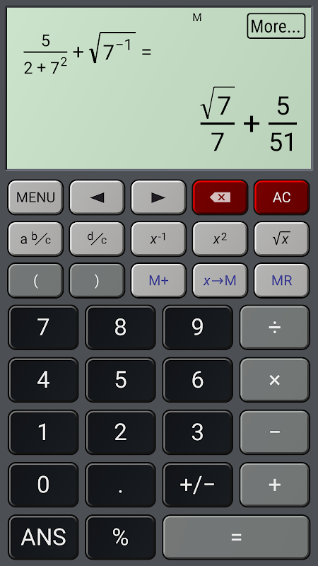 Android HiPER Calc Pro Screen 9