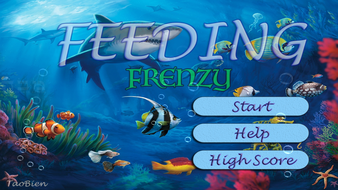 Feeding Frenzy - Eat Fish 1.1 Screen 1