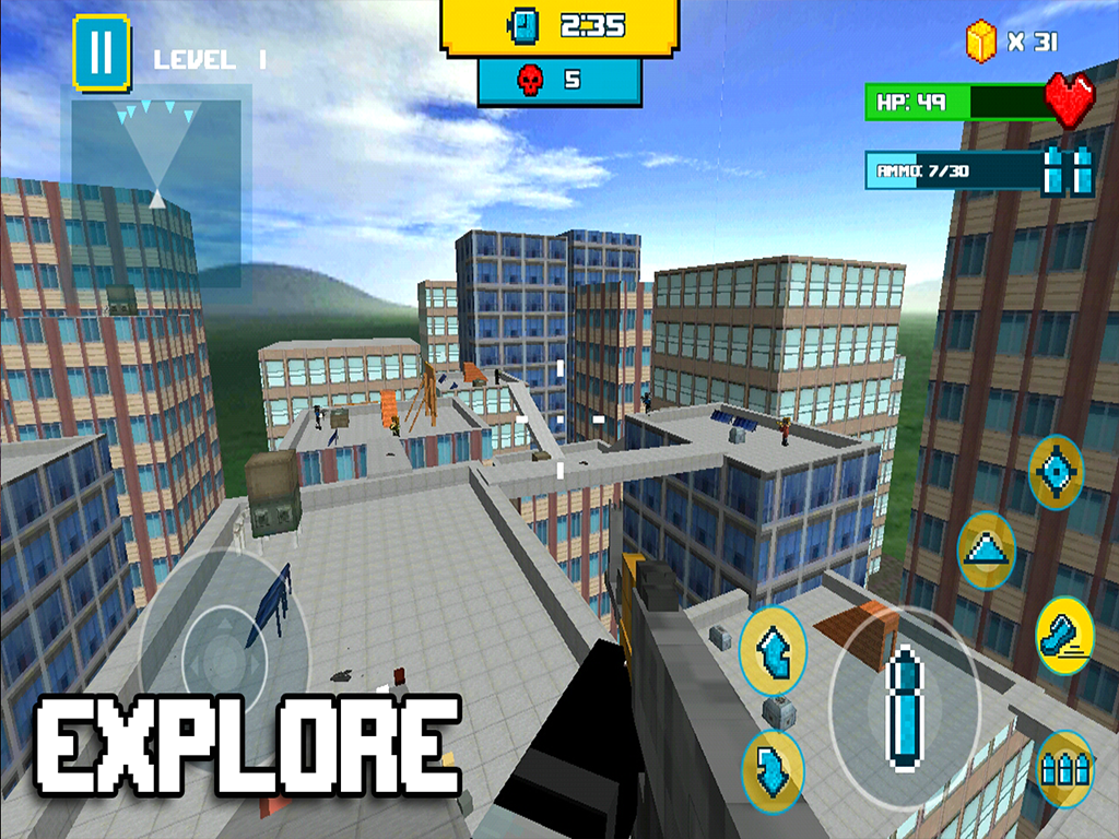 Android Block City Clan Wars Screen 5