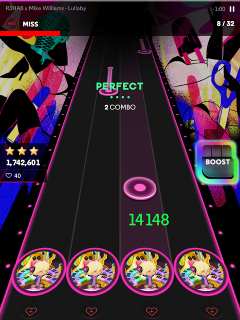 Android Beat Fever: Music Planet Screen 2