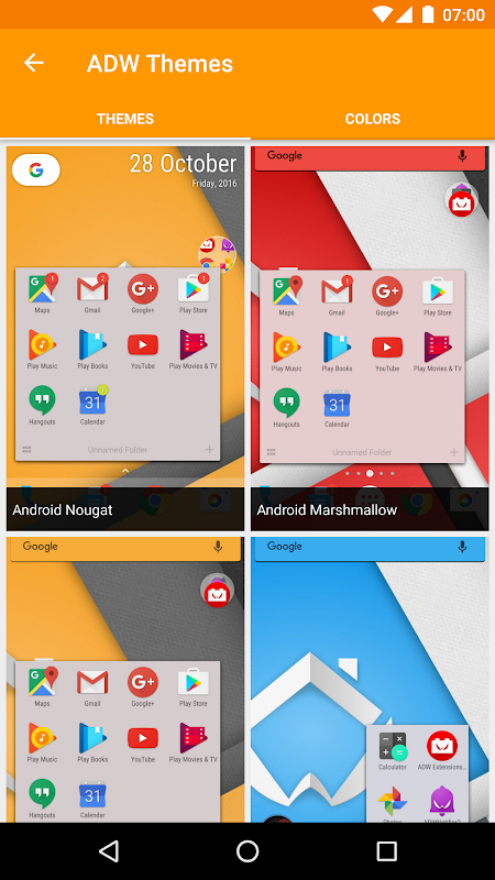 Android ADW Launcher 2 Screen 6