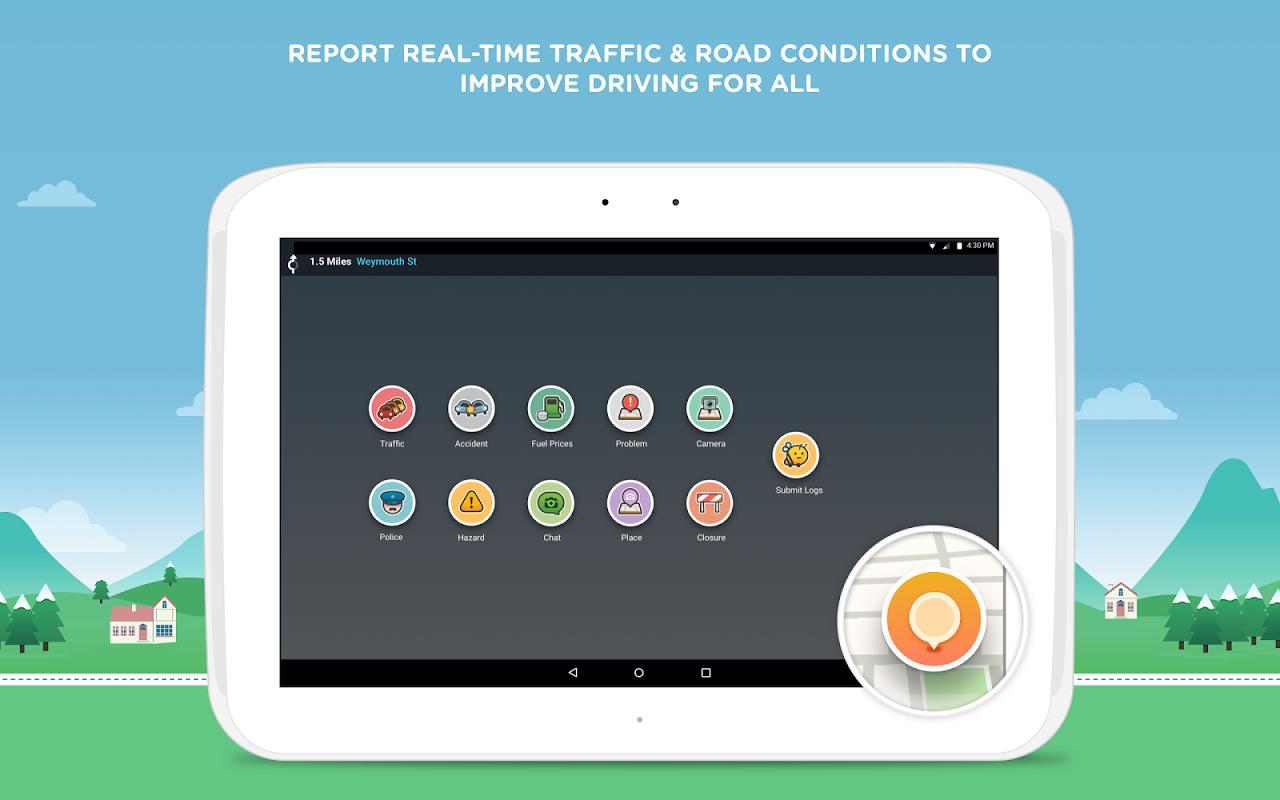 Waze - Sat Nav, Maps & Traffic 4.22.1.901 Screen 6