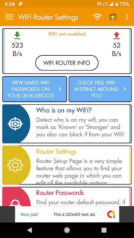 WiFi Router Page Setup - Scan Wifi,Router Password APKs