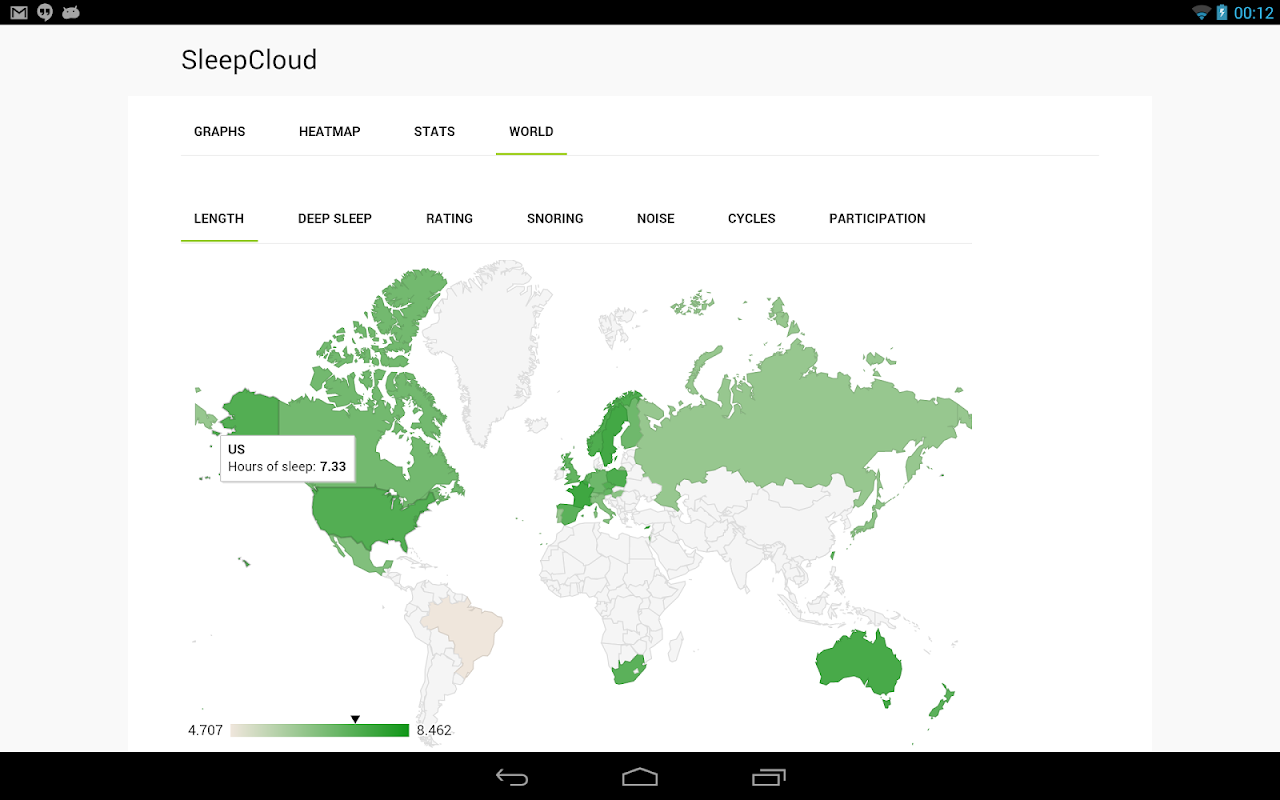 SleepCloud Backup for Sleep as Android 8.2 Screen 11