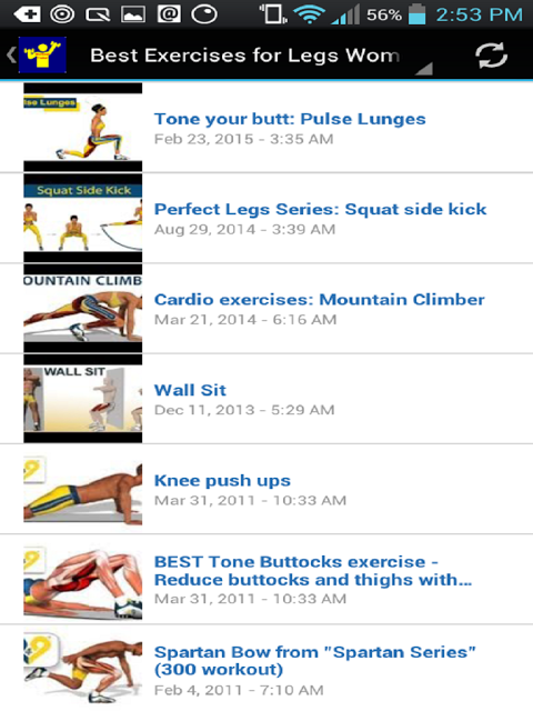 Android Workout Trainer Screen 23