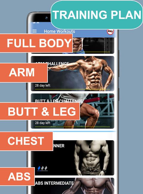 Home Workouts Gym Pro (No ad) 6.2 Screen 3