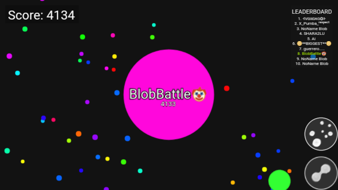 Blob Battle .io - Multiplayer Agar Action Game 1.1.4.010 Screen 4