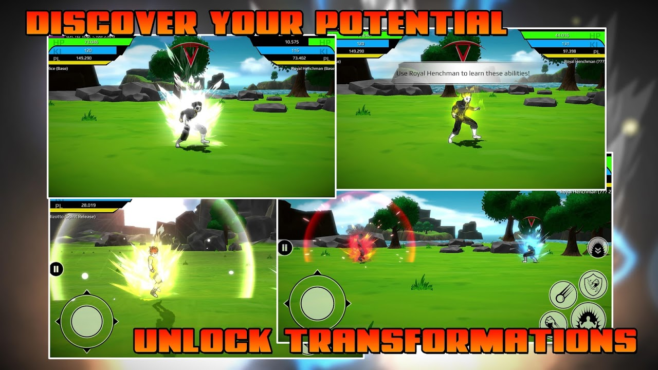 The Final Power Level Warrior (RPG) 1.2.7p2 Screen 2
