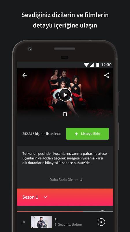 puhutv 1.2.2 Screen 1