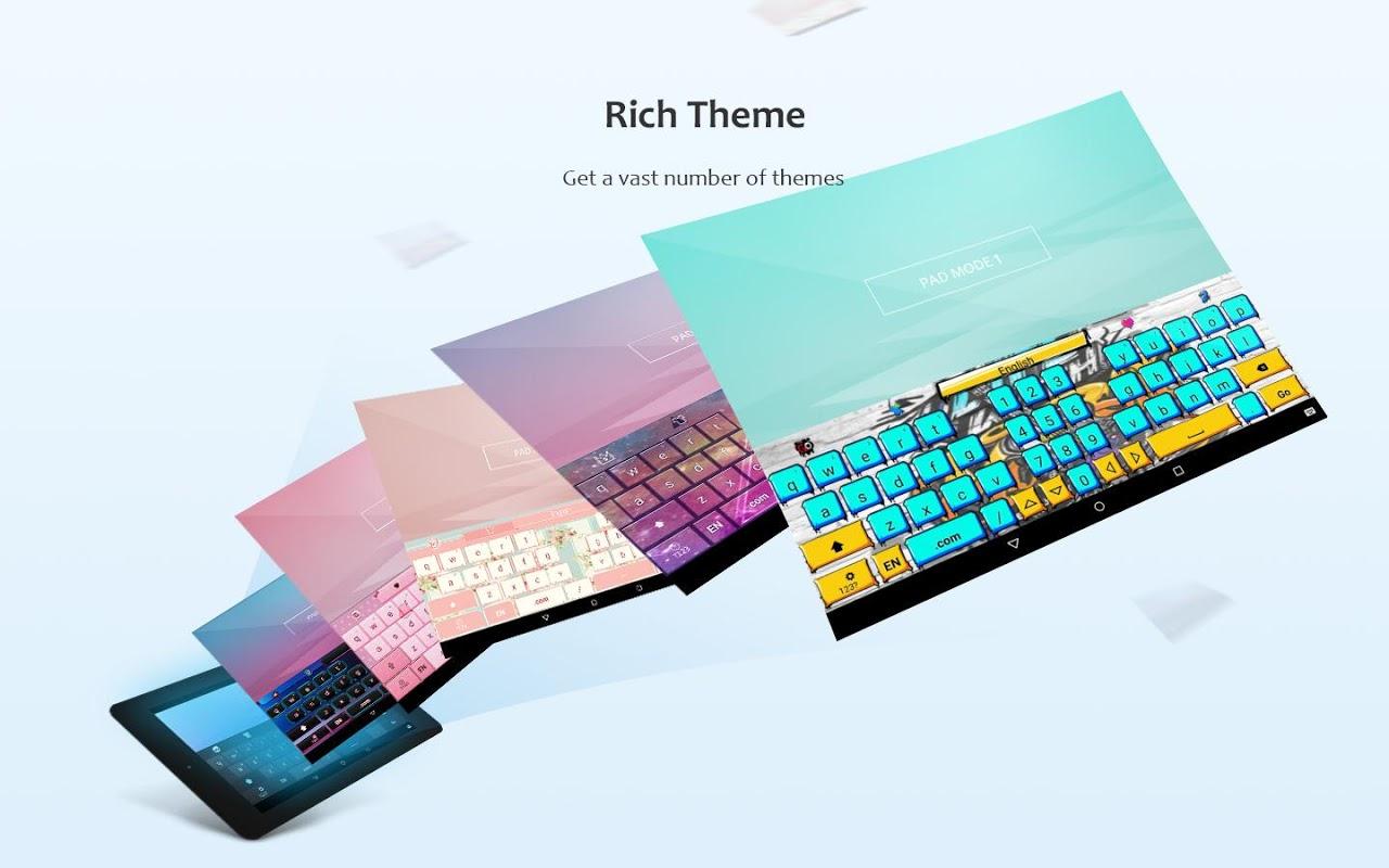 GO Keyboard 3.20 Screen 9