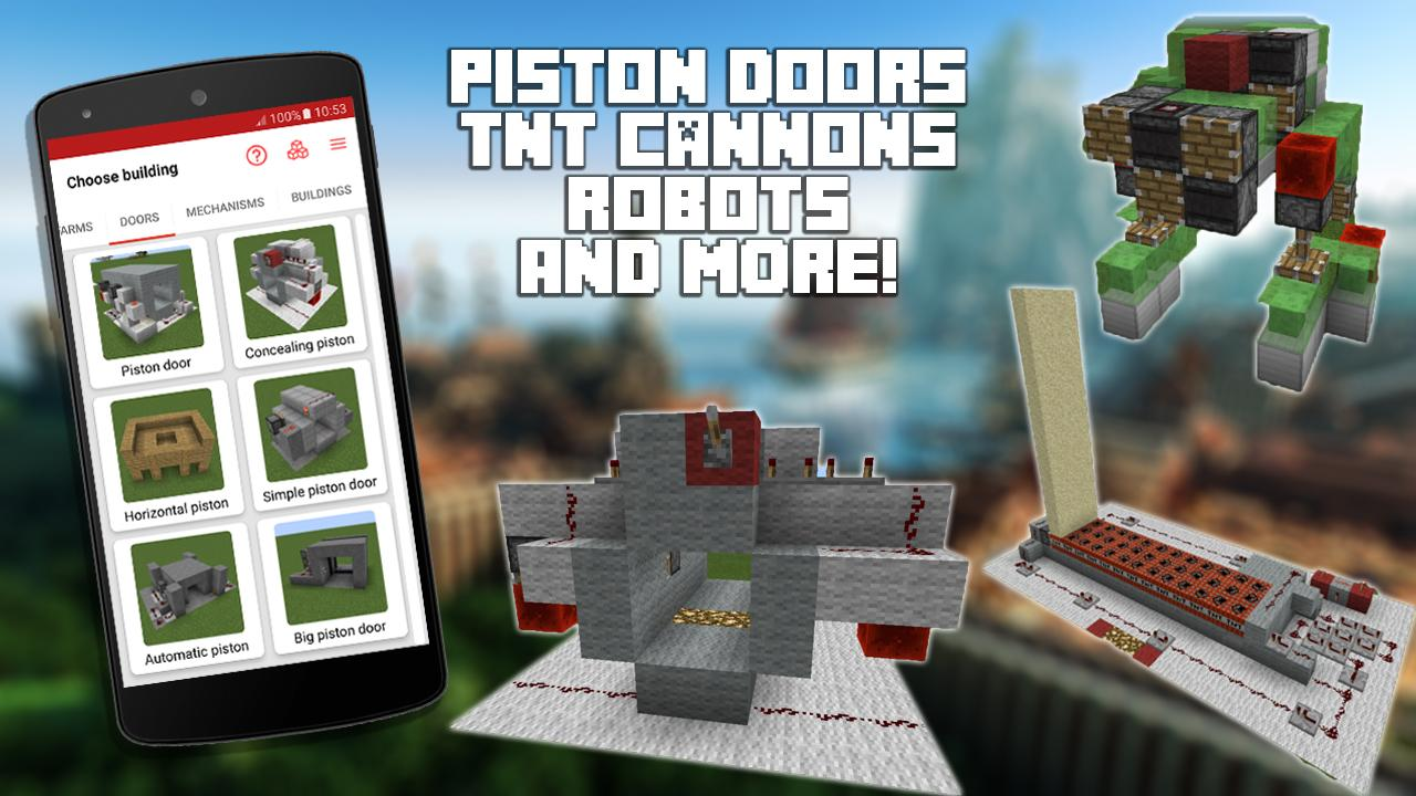 Redstone Builder for Minecraft PE 10.1 Screen 2