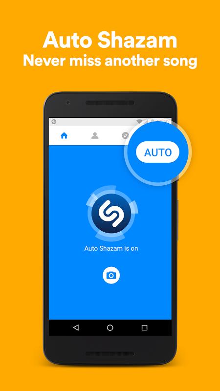 Android Shazam Screen 4
