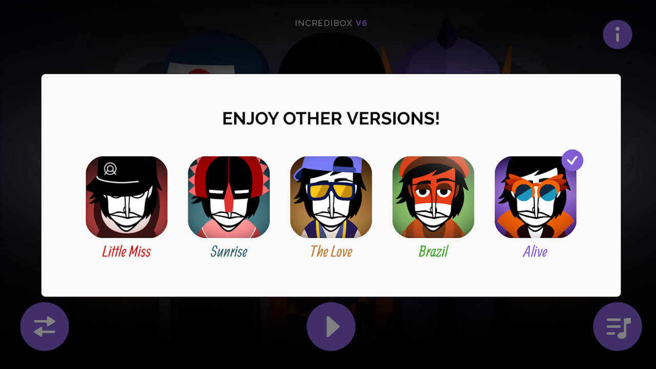 Android Incredibox Screen 3