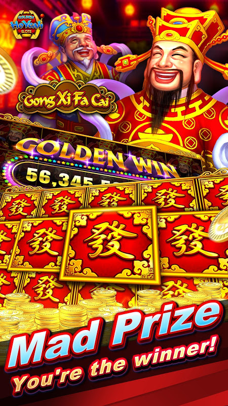Slots (Golden HoYeah) - Casino Slots 2.3.0 Screen 1