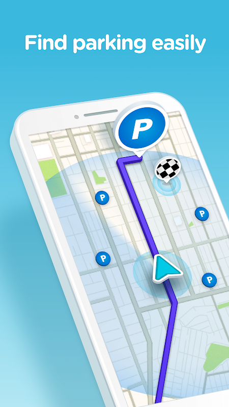 Waze - GPS, Maps, Traffic Alerts & Sat Nav 4.45.0.0 Screen 3