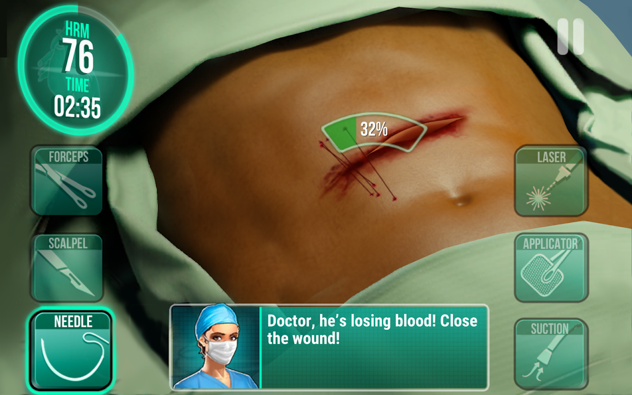 Operate Now: Hospital 1.18.4 Screen 9