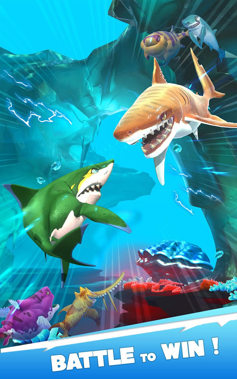 Android Hungry Shark Heroes Screen 8